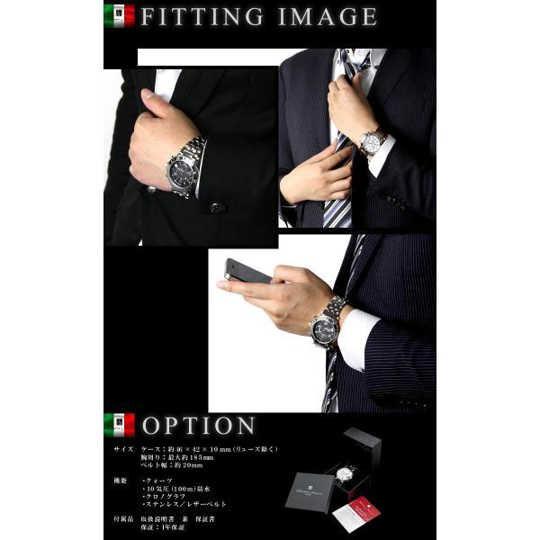 腕時計 メンズ クロノグラフ おしゃれ 人気 ブランド|courage|09