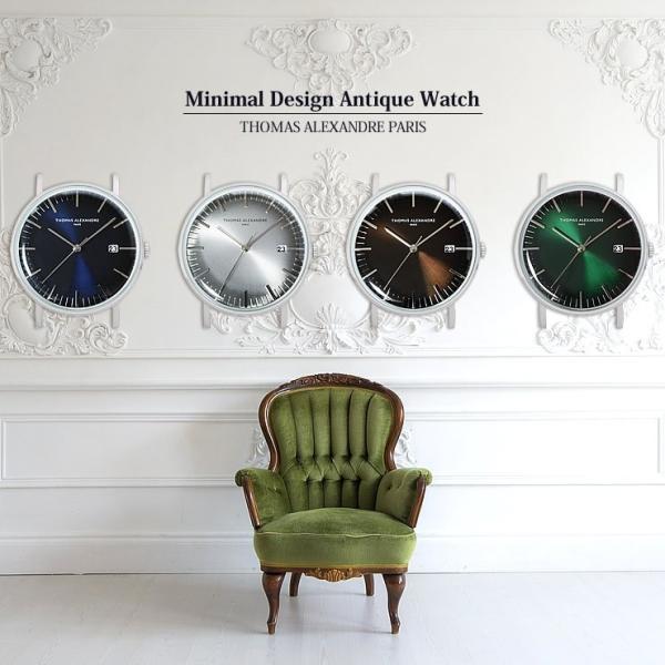 ミニマルウォッチ アンティーク 時計 メンズ レディース クラシック 腕時計 本体のみ|courage