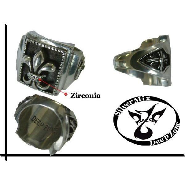 50%OFF メンズ 指輪 メンズリング シルバーミックス ピューター リリィ リング プレゼント ギフト|cowbell|02