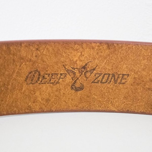ベルト メンズ 本革 カジュアル 栃木レザー 日本製 オイルレザー 牛革 Deep Zone プレゼント ギフト|cowbell|06
