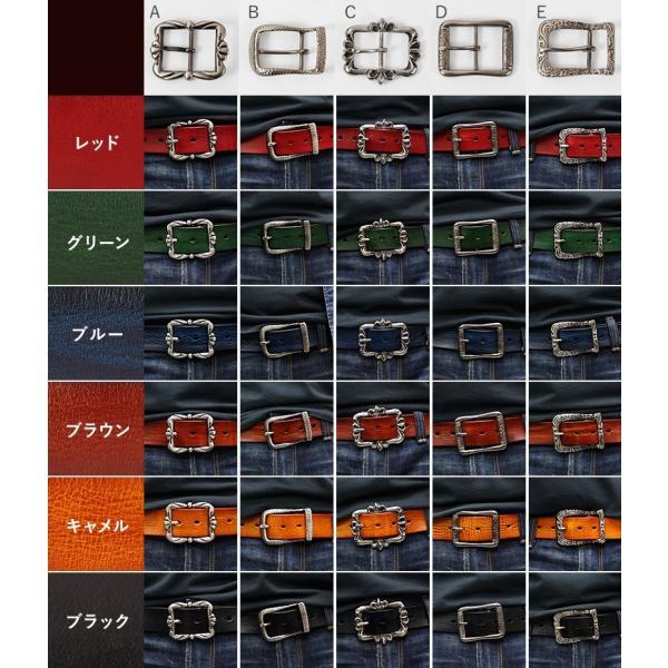 選べる30パターン ベルト メンズ 本革  オイルレザー 合金 牛革 本革 Deep Zone 男性 誕生日プレゼント 彼氏 退職祝い カジュアル プレゼント ギフト|cowbell|03
