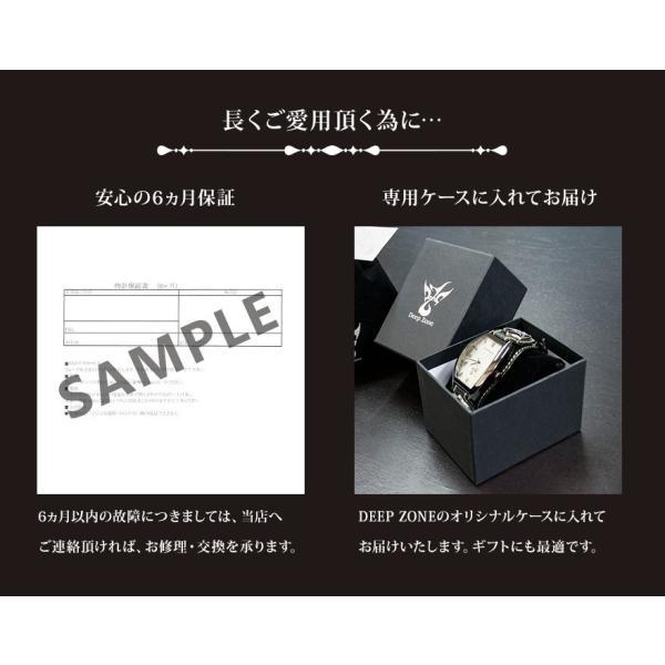腕時計 メンズ カジュアル ビジネス ホワイトレザーブレスウォッチ 本革 レザー ベルト牛革 ジルコニアクロス ホワイトメタルコンチョ プレゼント ギフト|cowbell|11