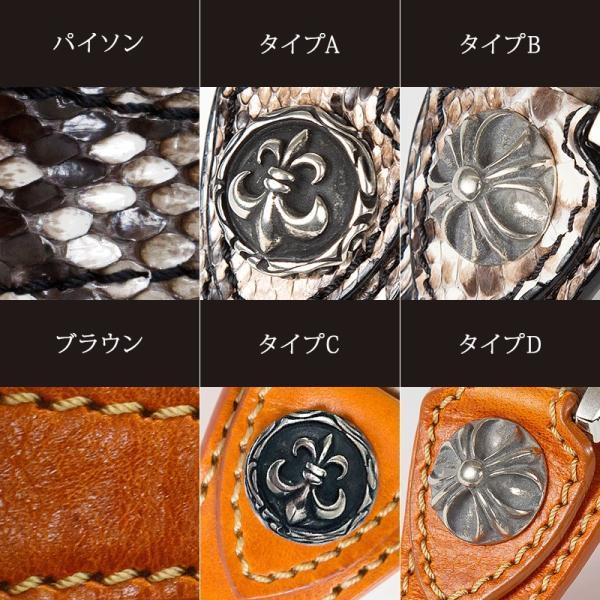 腕時計 メンズ 本革 イタリンレザー ベルト グラデーション 文字盤 コンチョ カジュアル腕時計|cowbell|07