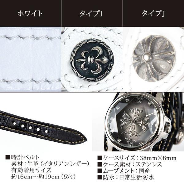 腕時計 メンズ 本革 イタリンレザー ベルト グラデーション 文字盤 コンチョ カジュアル腕時計|cowbell|09