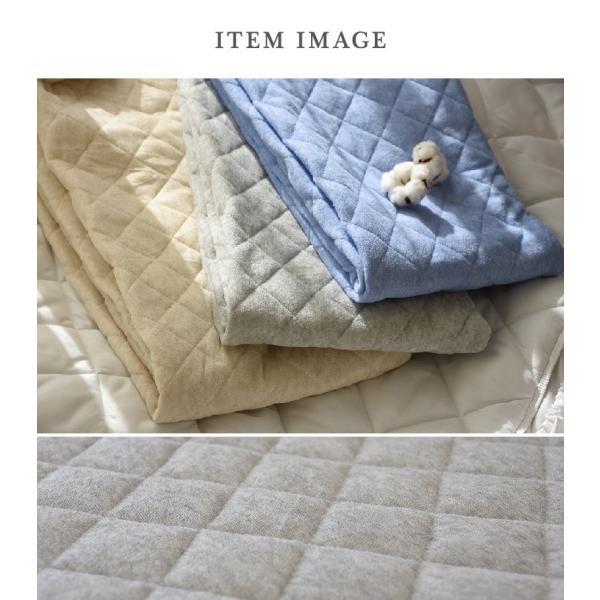 プレミアム会員+10%付与 敷きパッド セミダブル 綿混 さっぱり さらさら パイル タオル地 送料無料 ベッドパッド|coyoli|09