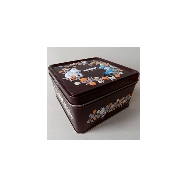 (あすつく対応) hokka (茶)ムーミンビスケット缶90g 「ココア」(簡易ラッピング付)MOOMIN 誕生日 内祝いお返し ギフト 北欧 クッキー ビスケット プレゼ cozymom 02