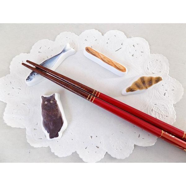 (ネコポス対応可)masacova箸置き 猫 キャット 魚 クロワッサン ギフト 内祝い お返し 誕生日 誕生日プレゼント 贈り物 結婚祝い 女性プレゼント プレゼント お