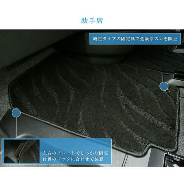 C27 セレナ フロアマット STDマット 日産 H28/8〜現行モデル 車1台分 フロアマット 純正 TYPE カーマット|craft-mart|09
