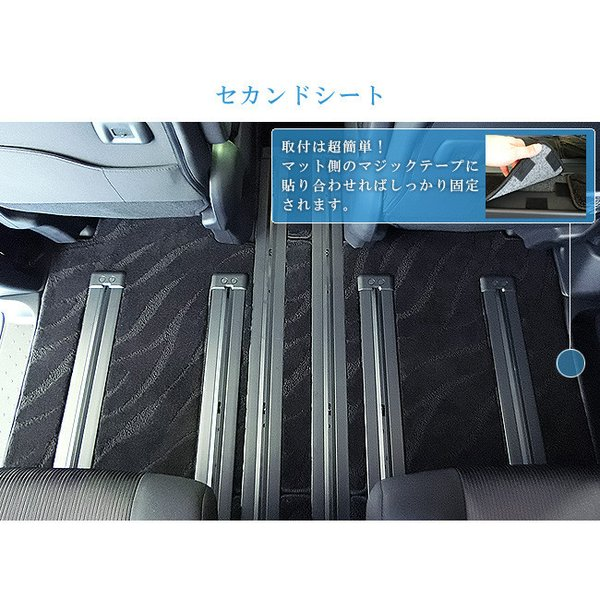 C27 セレナ フロアマット STDマット 日産 H28/8〜現行モデル 車1台分 フロアマット 純正 TYPE カーマット|craft-mart|10