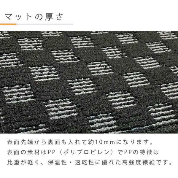 NISSAN ニッサン 日産 C27系セレナ SERENA セカンドラグマット DXマット 純正 TYPE|craft-mart|05