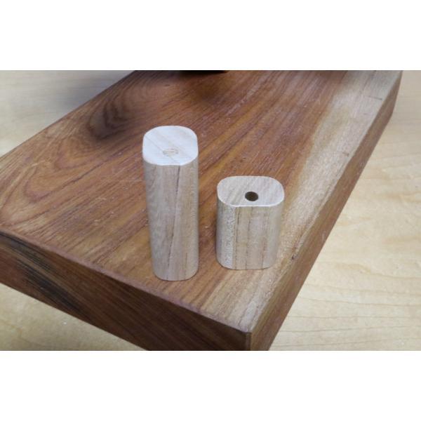 クオイオ付属チャックキー用 木製グリップ|craft-nora|02