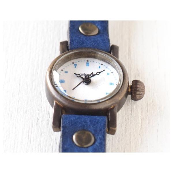 手作り腕時計 ハンドメイド ARKRAFT(アークラフト) Elmo mini エルモ・ミニ /グレー文字盤 /シンプル/カジュアル