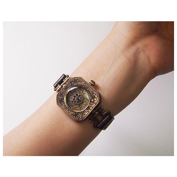 5ec9221173 手作り腕時計 ハンドメイド KS(ケーエス) JHA・篠原康治 和時計−霞 ...