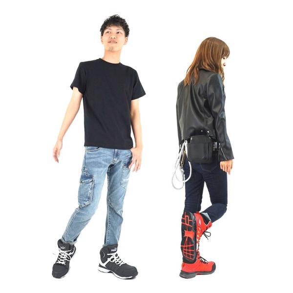 安全靴 プーマ PUMA ハイカット ヴェロシティ JSAA A種認定  VELOCITY2.0|craftworks|08