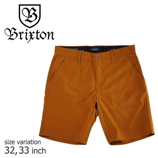 BRIXTON ブリクストン  ハーフパンツ スケボー メンズ BARK スケボー スケーターファッション crass