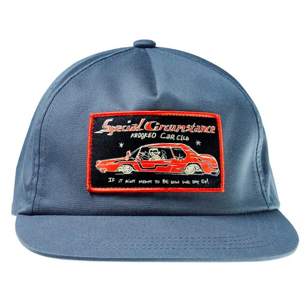 キャップ 帽子 スケボー マークゴンザレス KROOKED SNAPBACK CAPクルキッド クルックド|crass|02