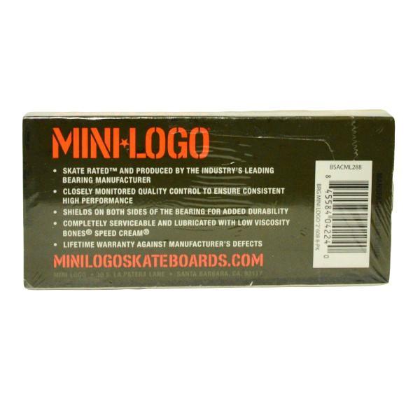 スケートボード ベアリング  MINI-LOGO ミニロゴ パーツ スケボーABEC5相当 |crass|02