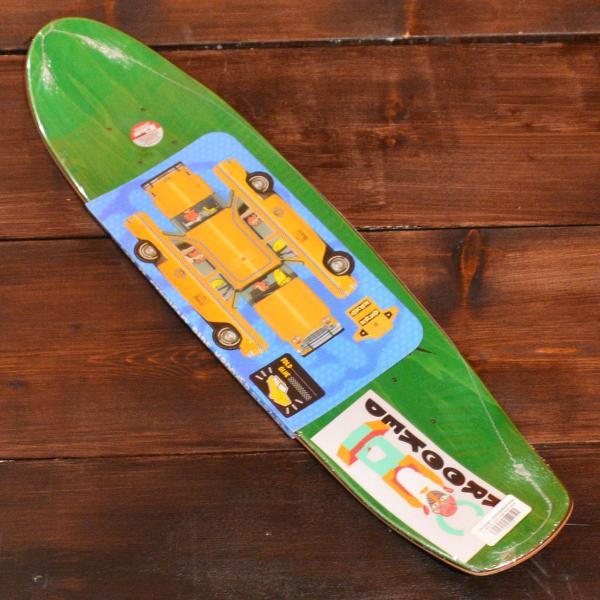 KROOKED デッキ スケートボード gonz クルーザー DECK 7.125 ZIP ZINGER NANO HOLO クルキッド クルックド ナノ クルージング SKATEBOARD ミニ ホログラム|crass|02