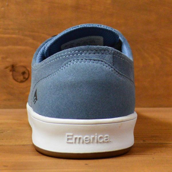 エメリカ スニーカー スケートシューズ EMERICA メンズ レディース THE ROMERO LACED BLUE WHITE GUM 23 24 26.5 レオ ロメロ レースド スケートボード|crass|03