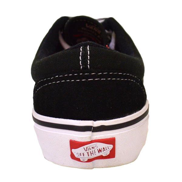 VANS スニーカー ERA PRO バンズ 黒 白 24.5 26 27 BLACK WHITE GUM スケボー メンズ レディース スケシュー 靴 エラプロ オールドスクール|crass|04
