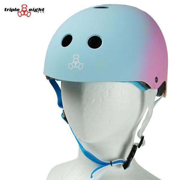 TRIPLE EIGHT THE CERTIFIED SWEATSAVER HL SUNSET ヘルメットプロテクター トリプルエイト スケートボード キッズ ジュニア BMX スノーボード スキー