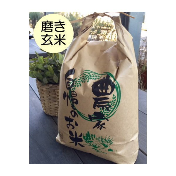 磨き玄米5kg石川ファーム自然栽培米/無農薬