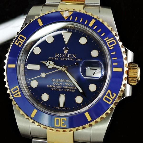 online retailer 4f6b8 fd56a ロレックス ROLEX サブマリーナコンビ 116613LB ランダム ...