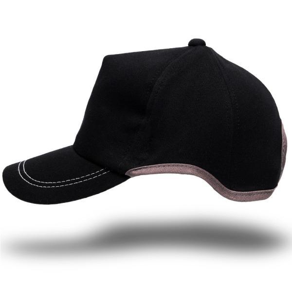 大きいサイズ帽子LXLキャップレディースメンズラウンドスウェットキャップブラックBIGWATCH正規品ビッグワッチUVケア