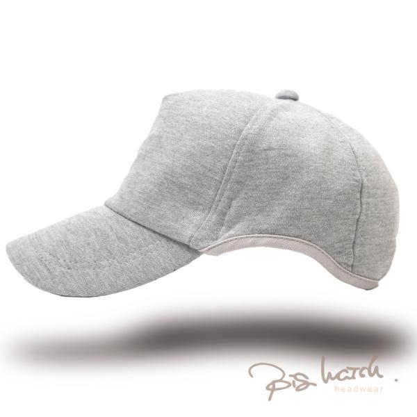 大きいサイズ帽子LXLキャップレディースメンズラウンドスウェットキャップMIXグレーBIGWATCH正規品/ビッグワッチUVケア