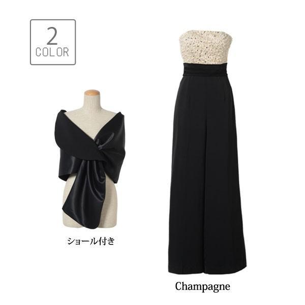 2f5e8466f67c2 ... 高垣麗子さん着用 大人パンツドレス パーティードレス パンツドレス 結婚式 パンツ 大きいサイズ ...