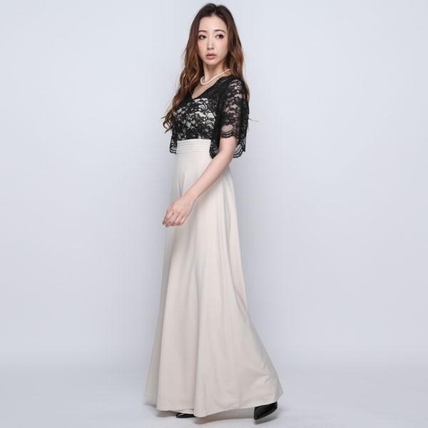 5156ec2d3eff0 ... 葛岡碧さん着用 パンツドレス 結婚式 パーティードレス パンツ 大きいサイズ ドレス パーティー 20 ...