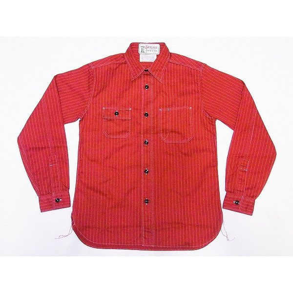 東洋エンタープライズ『SUGAR CANE RED WABASH WORK SHIRT』