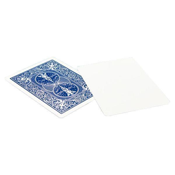 代引・同梱不可 バイスクルマジックカード ブランクフェイス青 PCM08