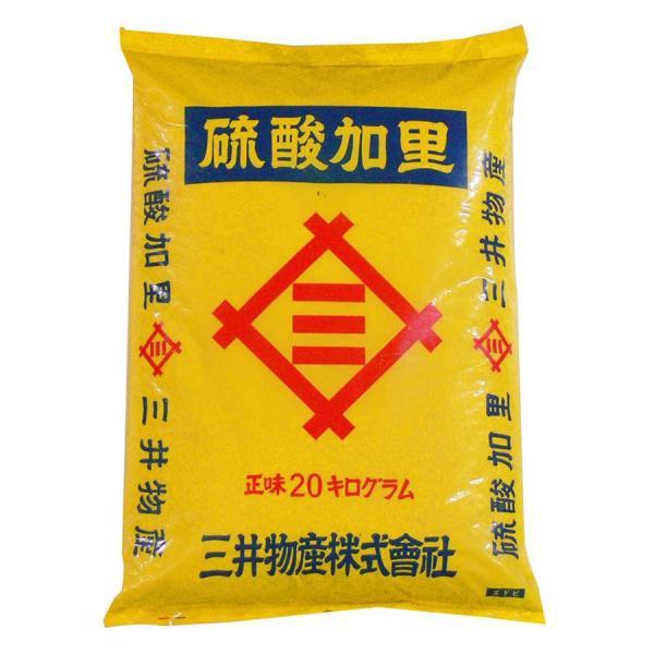 代引・同梱不可 あかぎ園芸 硫酸加里 20kg 1袋