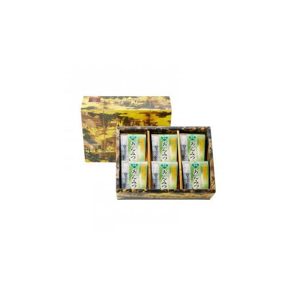 代引・同梱不可 つぼ市製茶本舗 宇治抹茶あんみつ詰め合わせ UAM-6 179g×6個