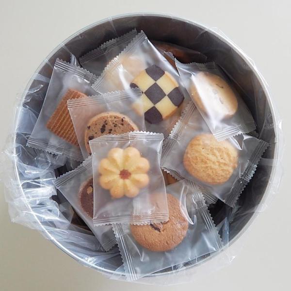 代引・同梱不可 バケツ缶(クッキー) 個包装 自宅用 スイーツ 詰め合わせ