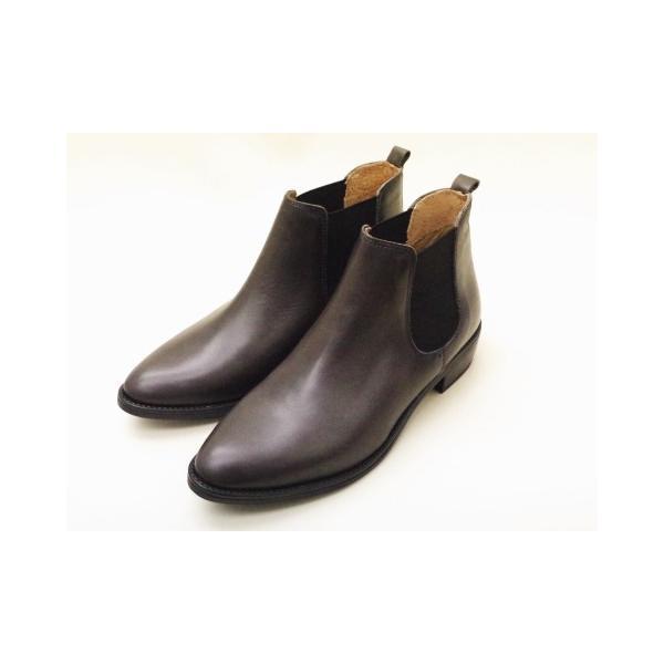 ボントレ BONTRE ブーツ 59775 GRAY レディース サイドゴアブーツ