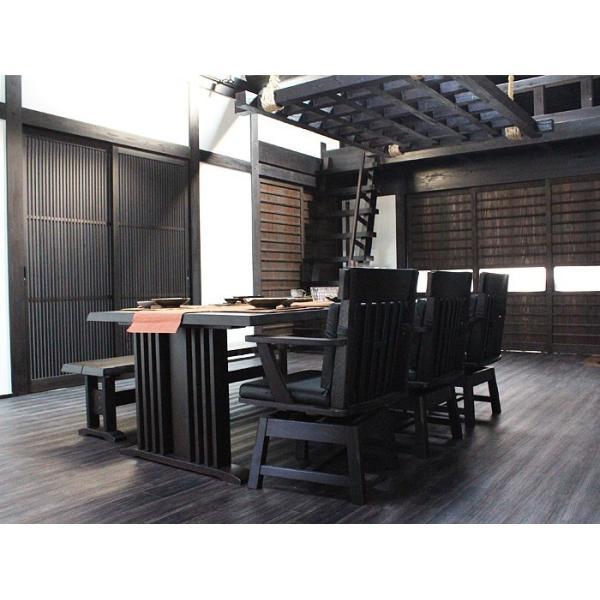 ダイニングテーブルセット 190cm 6人掛け 5点セット 北欧 creation-style 04