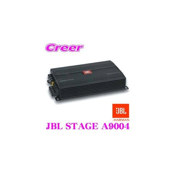 JBL ジェイビーエル JBL STAGE A9004@4Ω 車載用 省スペースカーアンプ 90W 4ch スペアタイヤ設置型サブウーファ