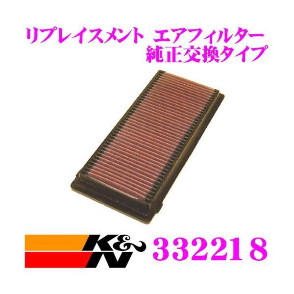 K&N 純正交換フィルター 33-2218アルファロメオ 147/アルファGT 用リプレイスメント ビルトインエアフィルター 純正品番:46741119対応