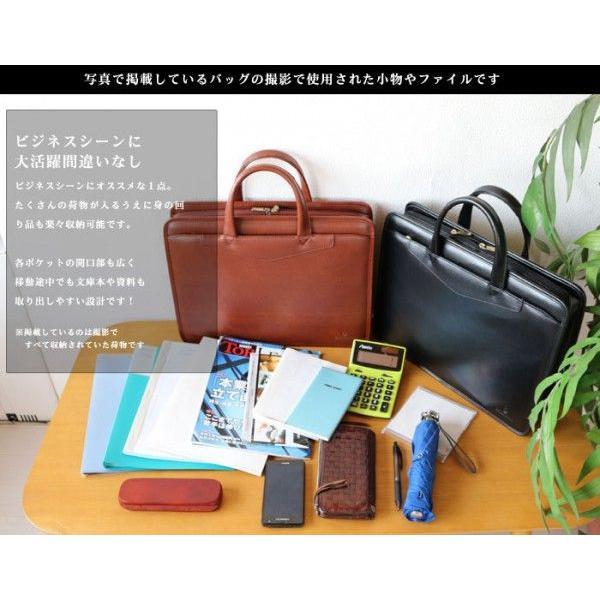 メンズビジネスバッグ 2WAY 牛革 ビジネスバッグ ビジネスバック ブリーフケース あすつく 特選|crescent|05