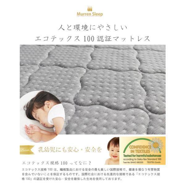 高反発マットレス スモールシングルベッド 幅92cm×長さ182cm ベッド 折りたたみ エアサポート 折り畳み 三つ折り 送料無料 あすつく|crescent|17