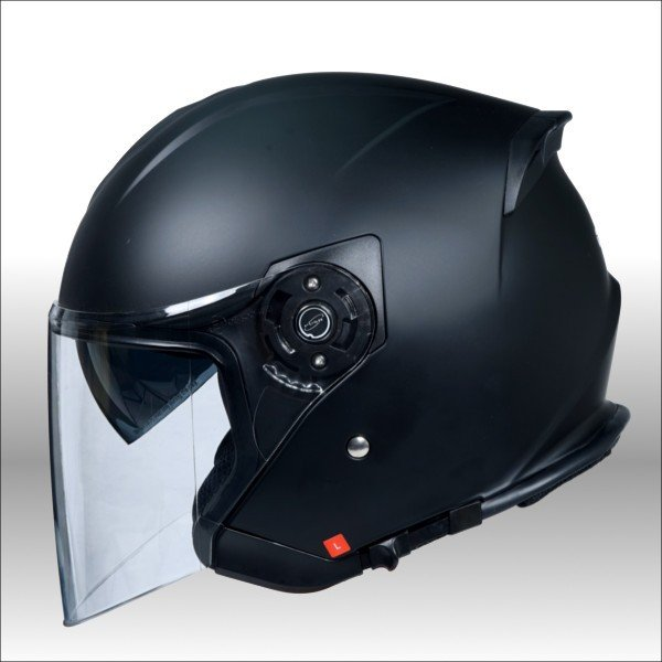 クレスト ワンタッチインナーバイザー付きジェットヘルメット HAYABUSA 隼|crest1