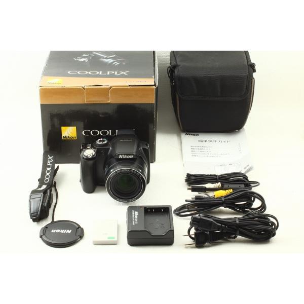 Nikonニコン COOLPIX P90◆1210万画素,コンデジ 元箱 美品ランク
