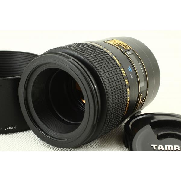 Tamron SP AF 90mm F2.8 Di MACRO 272EM Sonyソニー◆ケース 外観極上品ランク|crewact