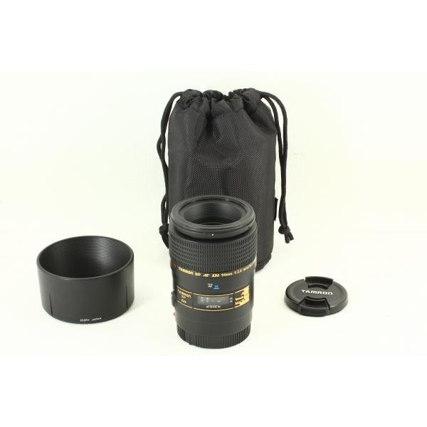 Tamron SP AF 90mm F2.8 Di MACRO 272EM Sonyソニー◆ケース 外観極上品ランク|crewact|03
