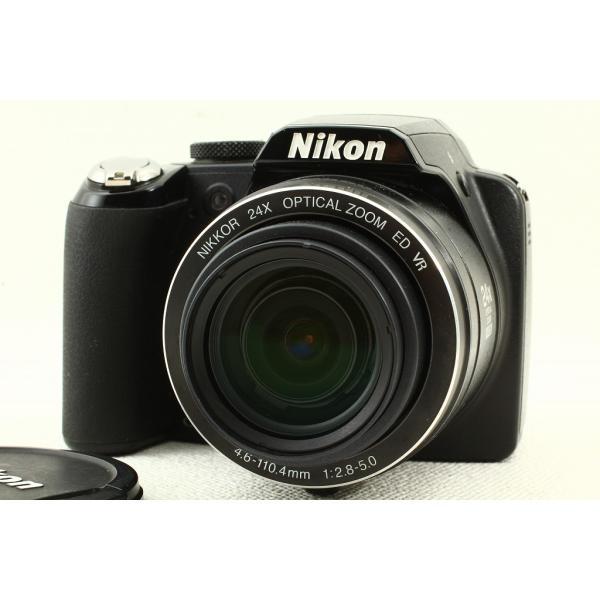 Nikonニコン COOLPIX P90◆1210万画素,ケース,コンパクトデジタルカメラ 美品ランク