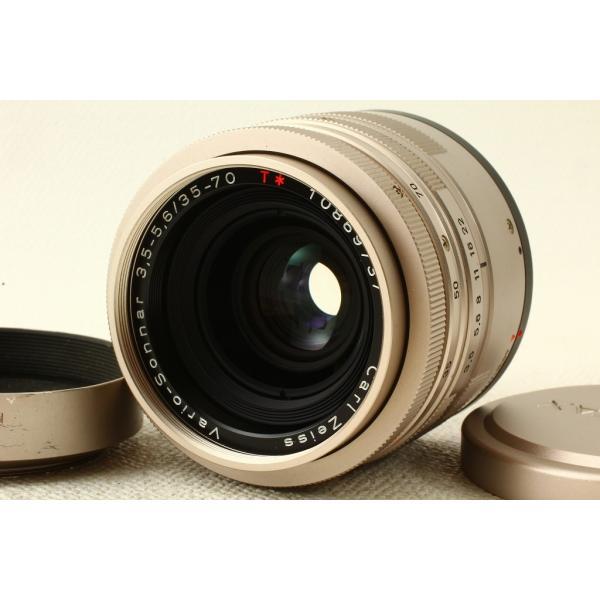 CONTAXコンタックス Vario-Sonnar G T* 35-70mm F3.5-5.6 クローム 極上品ランク