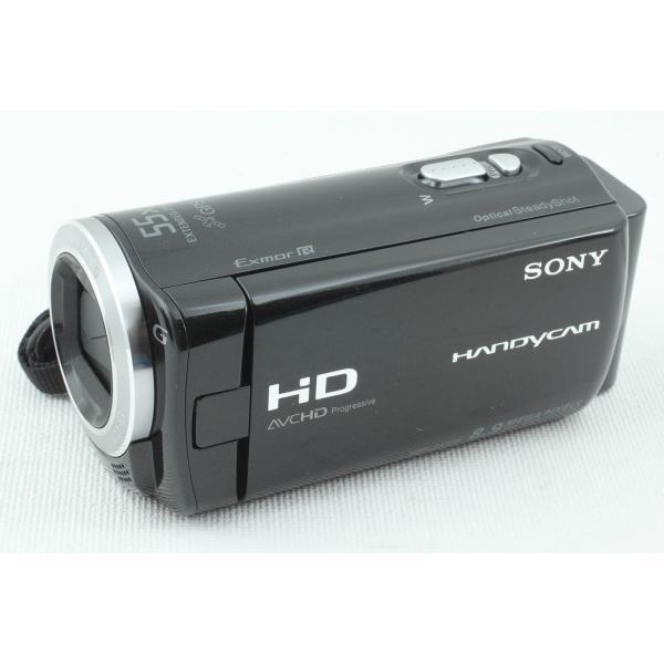 Sonyソニー ビデオカメラ HDR-CX270V クリスタルブラック◆Handycam 元箱 極上品ランク