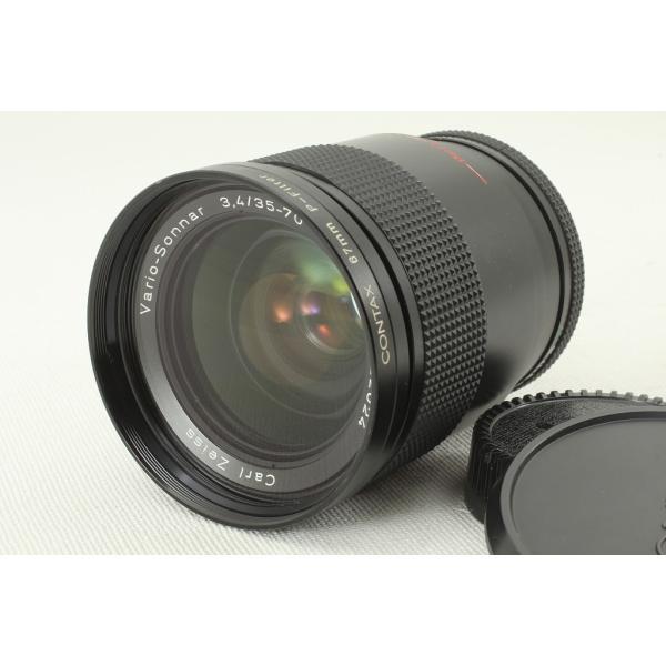 CONTAXコンタックス Vario-Sonnarバリオゾナー 35-70mm F3.4 T* 外観美品ランク